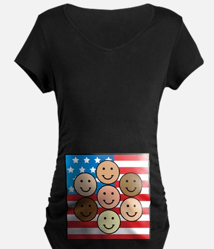 America People of Many Colors T-Shirt