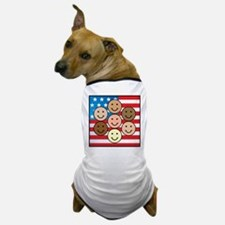 America People of Many Colors Dog T-Shirt