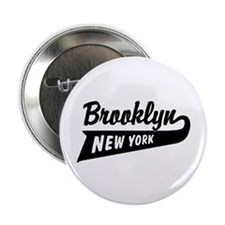 "Brooklyn New York 2.25"" Button"