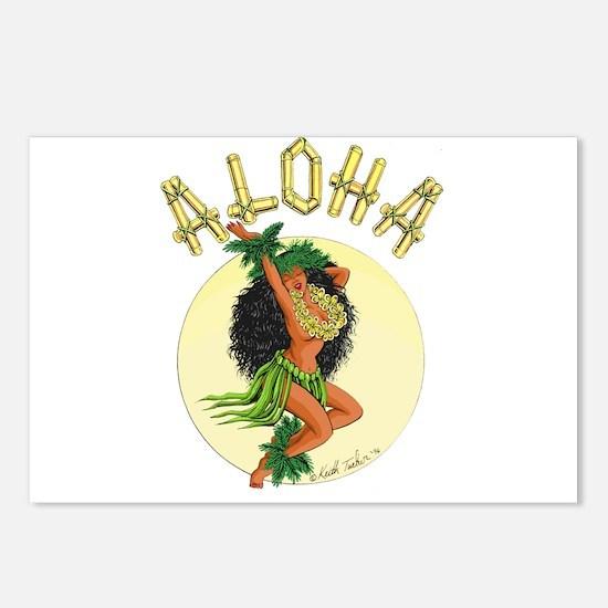 aloha Wahine Postcards (Package of 8)