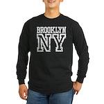 Brooklyn NY Long Sleeve Dark T-Shirt