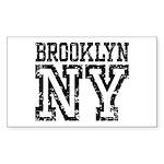 Brooklyn NY Sticker (Rectangle 10 pk)