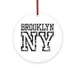 Brooklyn NY Ornament (Round)