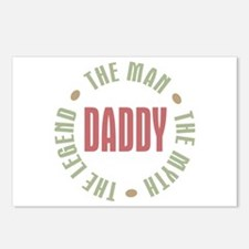 Daddy Man Myth Legend Postcards (Package of 8)
