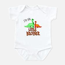 little brother dinosaur Infant Bodysuit