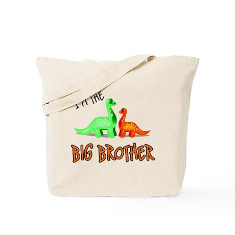 Big Brother dinosaur Tote Bag