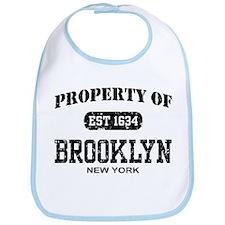 Property of Brooklyn Bib