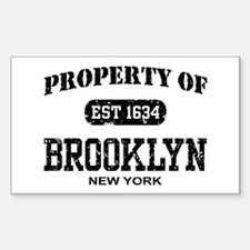 Property of Brooklyn Decal