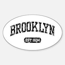 Brooklyn Est 1634 Decal