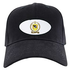 BOUDET Family Crest Black Cap
