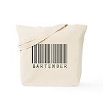 Bartender Barcode Tote Bag
