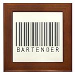 Bartender Barcode Framed Tile