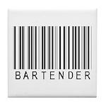 Bartender Barcode Tile Coaster