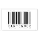 Bartender Barcode Rectangle Sticker 10 pk)