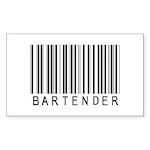 Bartender Barcode Rectangle Sticker 50 pk)