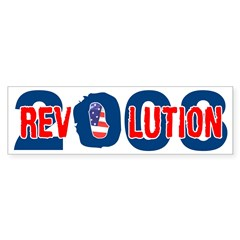 Obama Revolution Bumper Bumper Sticker