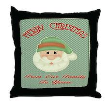 Santas Wish Throw Pillow