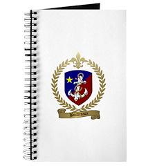BOUDREAUX Family Crest Journal