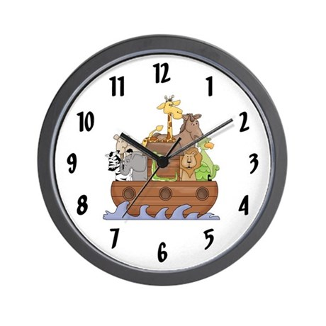 Two by Two Wall Clock