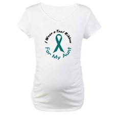 Teal Ribbon For My Aunt 4 Shirt