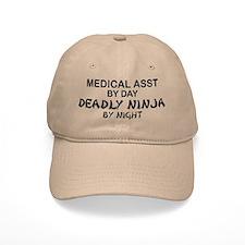 Med Asst Deadly Ninja by Night Baseball Cap