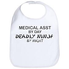 Med Asst Deadly Ninja by Night Bib