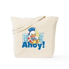 Duck Sailor Tote Bag