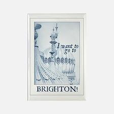 Jane Austen Brighton Rectangle Magnet