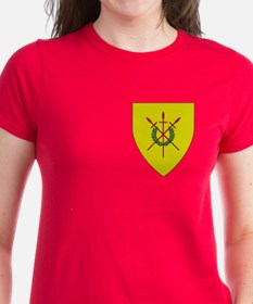 Red Spears Pocket Tee
