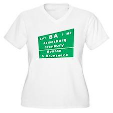 Exit 8A, Jamesburg, Cranbury, T-Shirt