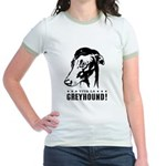 Viva la Greyhound! icon Jr. Ringer T-Shirt