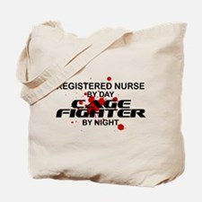 RN Cage Fighter by Night Tote Bag