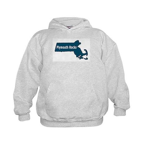 Plymouth MA Rocks! T-shirts Kids Hoodie