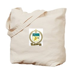 BOURDON Family Crest Tote Bag