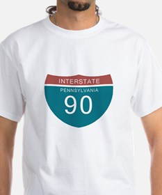 Interstate 90 PA T-shirts Shirt