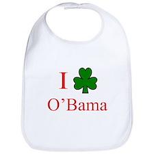 I [Shamrock] O'Bama Bib