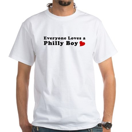 Philly Boy T-shirts White T-Shirt