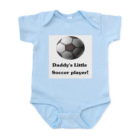 Daddy's Little Soccer Player! Infant Bodysuit
