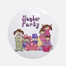 Slumber Party Ornament (Round)