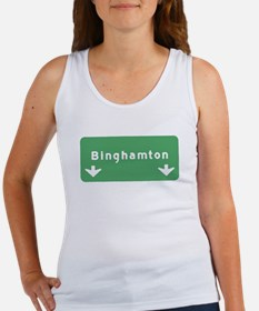 Binghamton Sign T-shirts Women's Tank Top