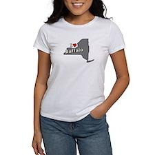 I Heart Buffalo NY T-shirts Tee
