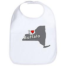 I Heart Buffalo NY T-shirts Bib