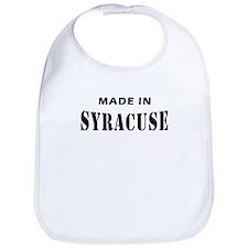 Made in Syracuse NY Tees Bib