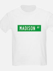 Madison Ave NY T-shirts T-Shirt