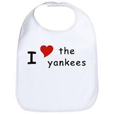 I Heart the Yankees NY Bib