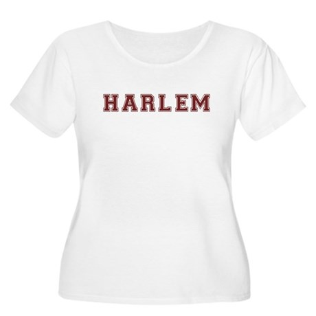 Harlem T-shirt (Harvard Desig Women's Plus Size Sc