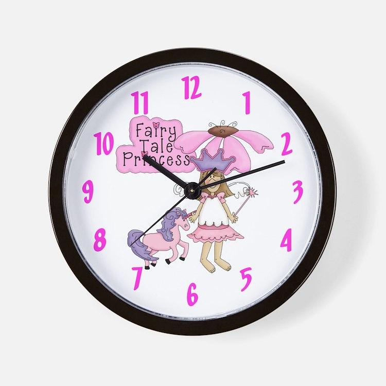 Fairy Tale Princess (blond) Wall Clock