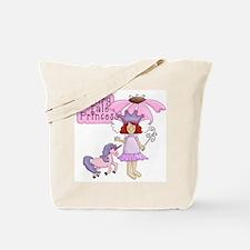 Fairy Tale Princess (red) Tote Bag