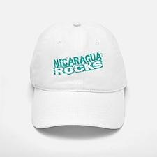 Nicaragua Rocks Baseball Baseball Cap