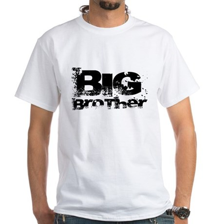 Big Brother grunge White T-Shirt